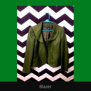 Wool/silk blend blazer/suit jacket*